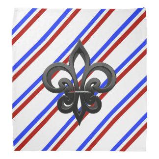 Bandana Bandeira francesa das listras
