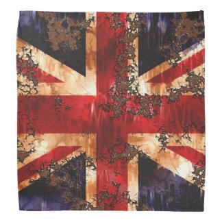 Bandana Bandeira patriótica oxidada de Reino Unido