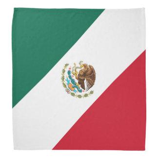 Bandana Bandera patriótica Mexicana da bandeira mexicana