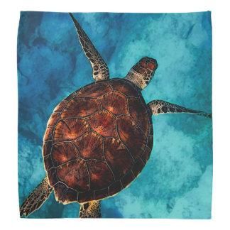 Bandana Beleza da tartaruga de mar