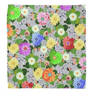 Bandana Beleza floral do jardim