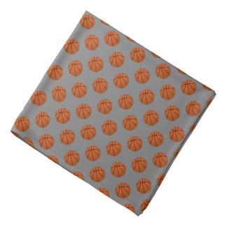 Bandana Bolas do basquetebol de Brown em cinzas médias