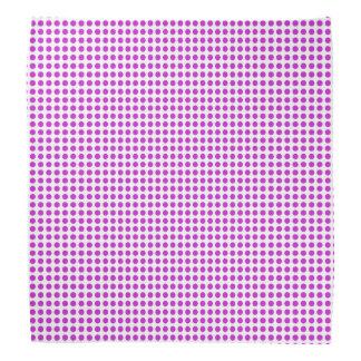 Bandana Bolinhas violetas do brilho