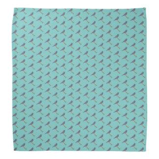 Bandana bordado do Bluejay