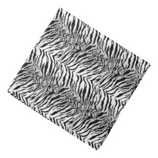 Bandana branco do tigre