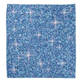 Bandana Brilho iridescente azul