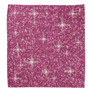 Bandana Brilho iridescente cor-de-rosa