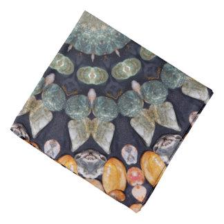 Bandana Caleidoscópio abstrato de Brown