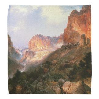 Bandana claro das montanhas da cachoeira de