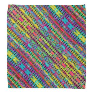 Bandana colorido do design geométrico
