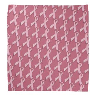 Bandana Consciência cor-de-rosa do cancro da mama das