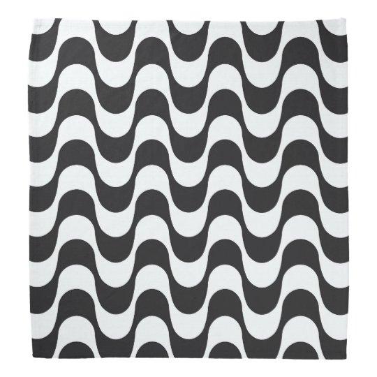 Bandana Copacabana waves pattern.