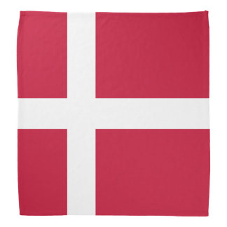 Bandana da bandeira de Dinamarca