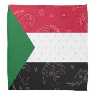 Bandana da bandeira de Sudão