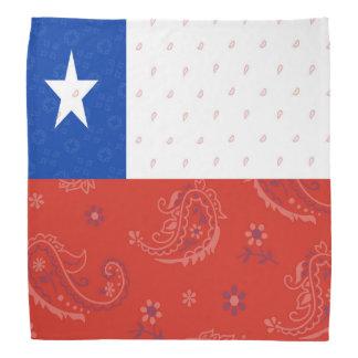 Bandana da bandeira do Chile