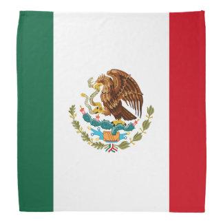 Bandana da bandeira mexicana