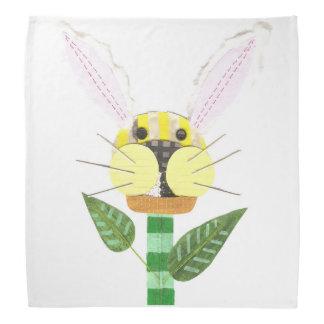 Bandana da flor do coelho