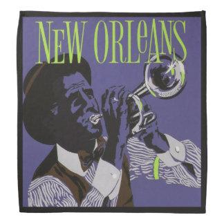 Bandana da música de Nova Orleães