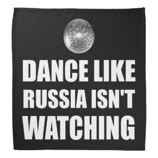 Bandana Dança como Rússia que não olha