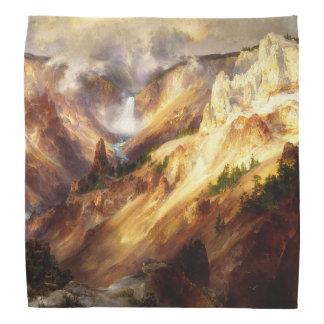 Bandana das árvores das montanhas da cachoeira de