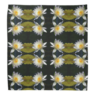Bandana de Lotus branco Waterlily