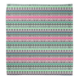 Bandana Design asteca colorido bonito dos padrões