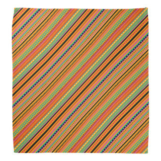 Bandana Design asteca nativo colorido bonito dos padrões