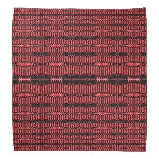 Red Black Wire Abstract design