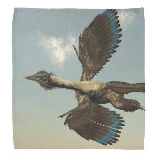 Bandana Dinossauros dos pássaros do Archaeopteryx que voam