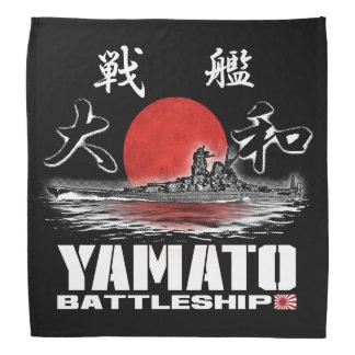 Bandana do Bandana de Yamato da navio de guerra