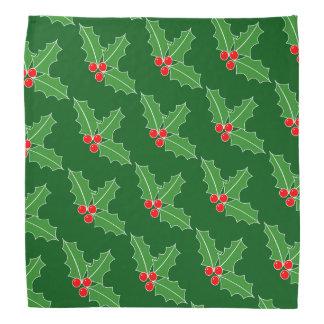 Bandana do cão do Natal - lenço de pescoço do