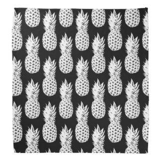 Bandana do impressão do abacaxi - lenço de pescoço