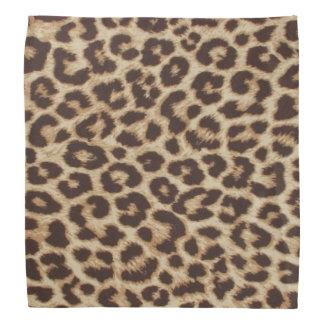 Bandana do impressão do leopardo