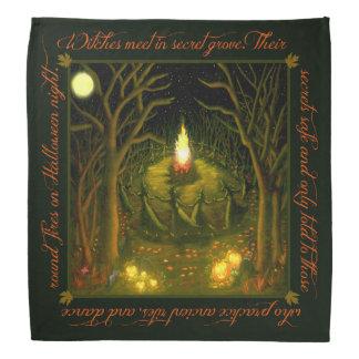 Bandana do lenço da bruxa