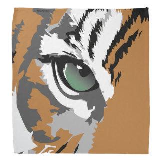 Bandana do olho do tigre