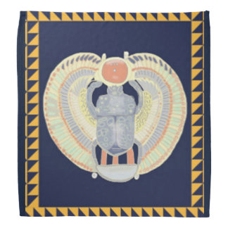 Bandana egípcio do escaravelho