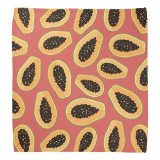 Bandana Fruta da papaia