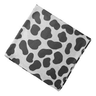Bandana Impressão preto e branco Dalmatian