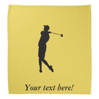Bandana Jogador de golfe