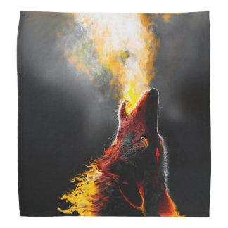Bandana Lobo do fogo