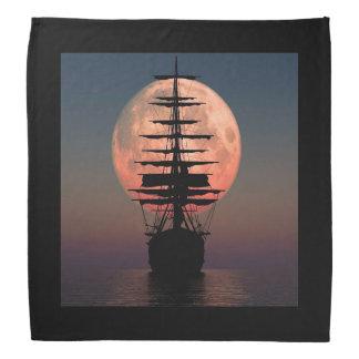Bandana Lua do pirata da navigação