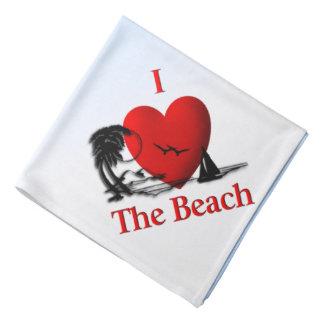 Bandana Mim coração a praia