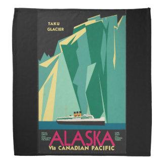 Bandana Navio de cruzeiros da geleira de Alaska Taku das