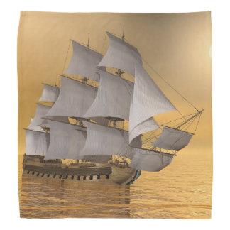 Bandana Navio mercante velho - 3D rendem