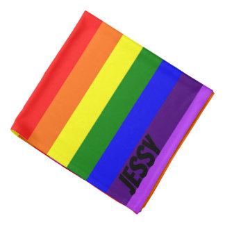 Bandana Nome feito sob encomenda LGBT do Bandanna do