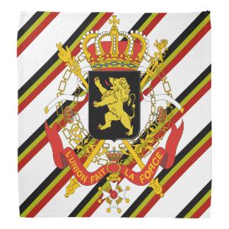 Bandana O belga listra a bandeira