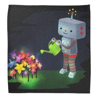 Bandana O jardim do robô