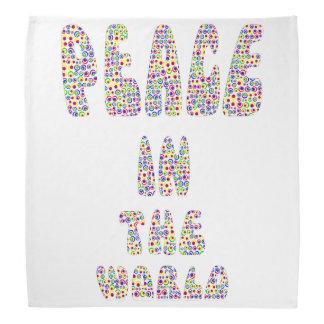 Bandana Peace em World the