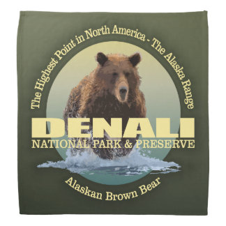 Bandana PESO de Denali NP (urso)