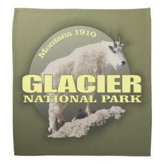 Bandana PESO do parque nacional de geleira (cabra de